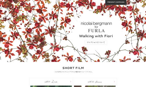 FURLA│Walking with Fiori│Nicolai Bergmann Capsule Collection