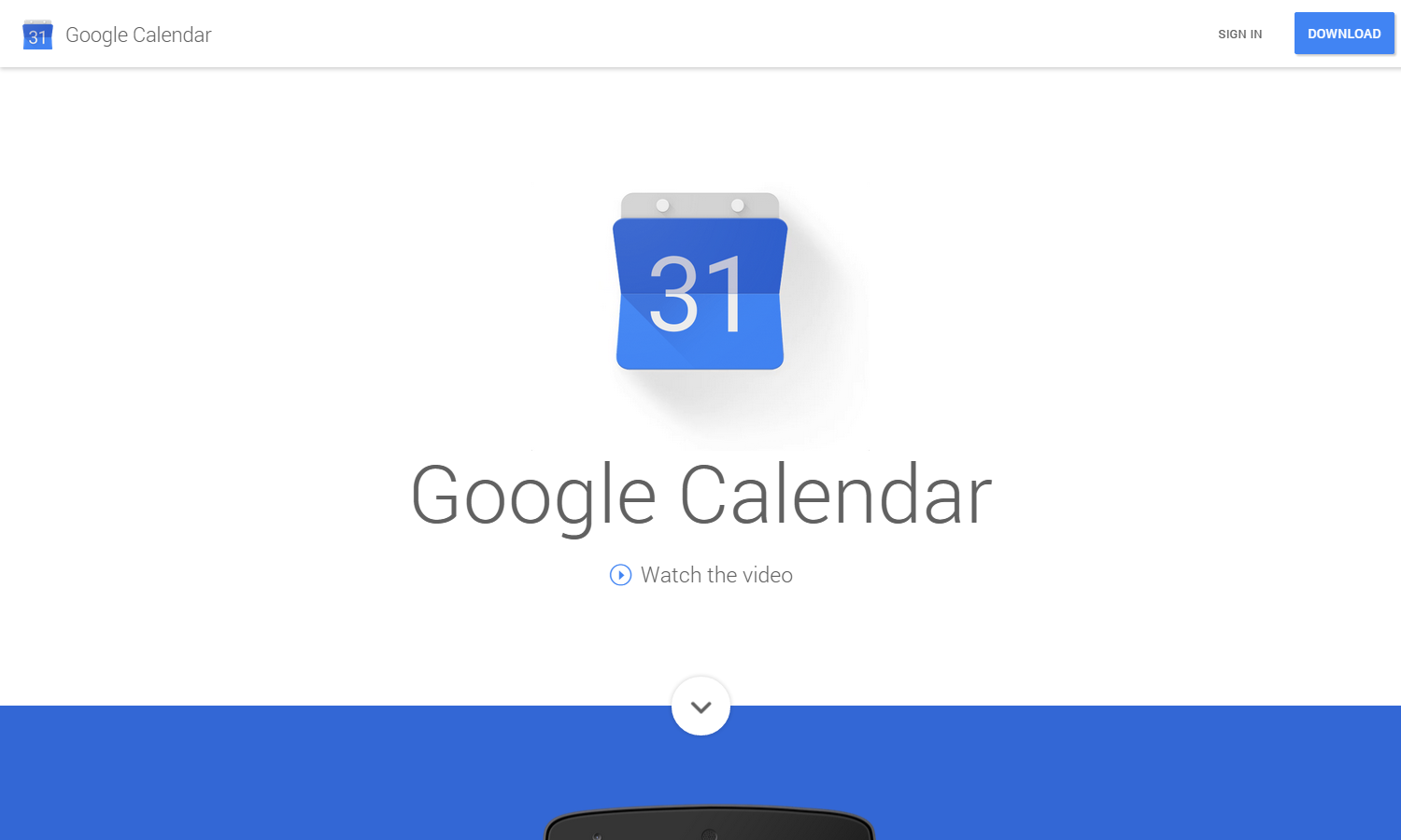 Google Calendar   Get the new Android app