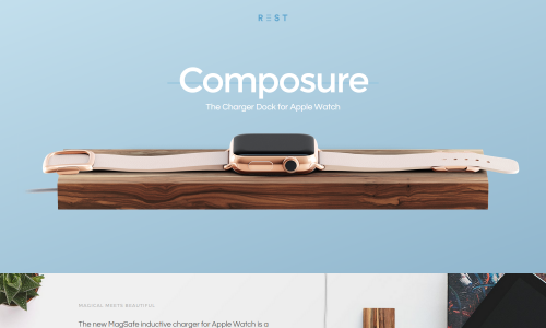 Rest   Composure Dock for Apple Watch