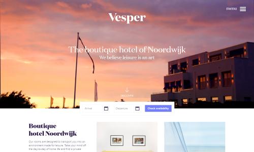 Vesper Hotel Noordwijk – The Boutique Hotel Of Noordwijk