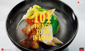 『101 things to do in Japan』