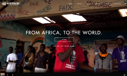 AMP MUSIC – From Africa  To the World
