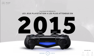 PlayStation 4 les plus attendus en 2015