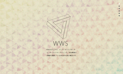 WEBの仕掛け集団 WWS(World Wide System)