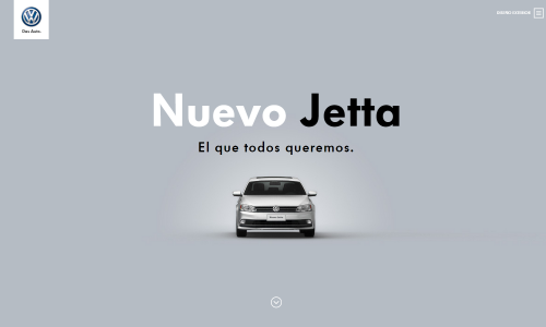 Nuevo Jetta  Volkswagen México.