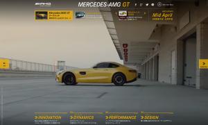 The New Mercedes-AMG GTスペシャルサイト